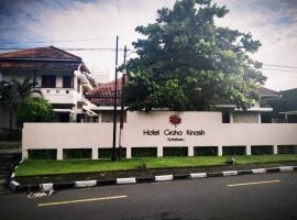 Hotel Graha Kinasih Kotabaru, отель в Джокьякарте