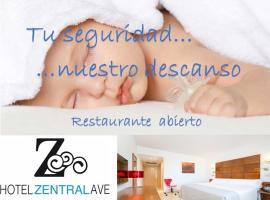Hotel Zentral Ave, hotel en Zaragoza