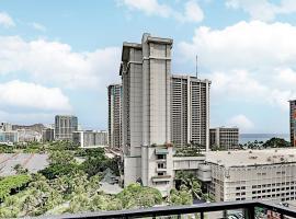 Aqua Palms Waikiki - Pool, Grill, Gym - Walk to Beach Hotel Room, hotel near Honolulu Airport - HNL, Honolulu