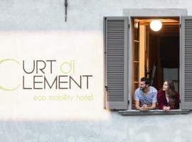 Curt di Clement Eco Mobility Hotel, hotel a Tirano
