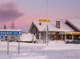 Kultahippu Hotel & Apartments, hotel in Ivalo