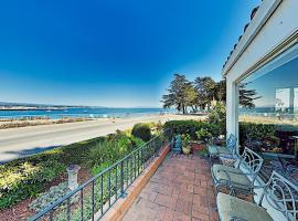 Surfside Spanish-Style Home - Epic Views & Hot Tub home, vacation rental in Santa Cruz