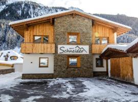 Apart Schneider, apartment in Ischgl