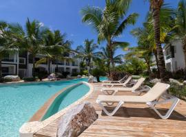 Atmospheric apartment with a beautiful view of the swimming pool, room in Bayahibe