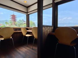 旅荘かわぐち、宮島のホテル