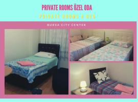 comfort private room in city center bursa, B&B in Bursa
