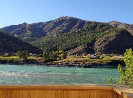 Алтай Чемальский каньон, отель в Чемале