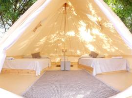 Solé Beach Club, luxury tent in Punta Chame