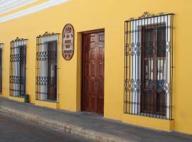 La Casa del Marqués, hotel en Comitán de Domínguez