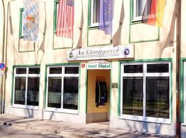 Am Klostergarten, отель рядом с аэропортом Аэропорт Мюнхен - MUC во Фрайзинге