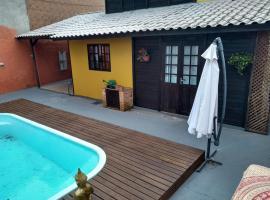 Casa no Campeche com Piscina, casa de temporada em Florianópolis