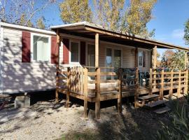 VIAS - Camping La Carabasse - Mobil Home 6 - 8 personnes, campground in Vias