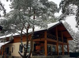 Шале Белые пески, holiday home in Levychino