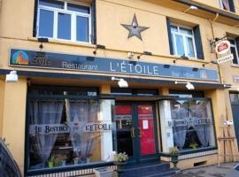 Le Bistro de l'Étoile, hotel in Eu