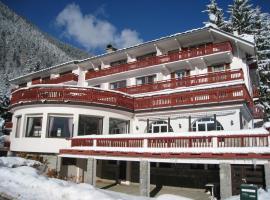 Chalet Hôtel La Sapinière, hotel in Chamonix