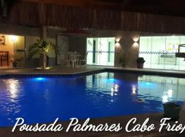 Pousada Palmares, hotel with pools in Cabo Frio