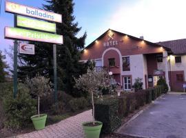Hôtel Restaurant le Privilège - authentic by balladins、ヴェルダン・シュル・ムーズのホテル