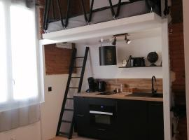Charmant studio de 20m2 en hypercentre de Toulouse, location de vacances à Toulouse