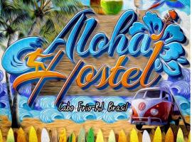 Aloha hostel cabo frio, family hotel in Cabo Frio