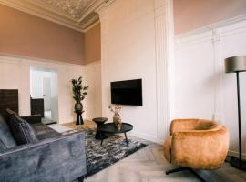 Stadsvilla Tilburg luxe 5 sterren appartement, Wilhelmina, apartment in Tilburg