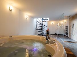 Spa jacuzzi cocooning à BORDEAUX, location de vacances à Bordeaux