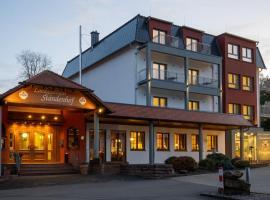 Hotel-Landgasthaus Ständenhof, хотел в Ruppertsweiler