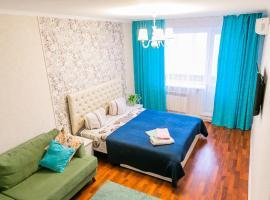 Апартаменты евро ремонт в Центре города, hotel in Pavlodar