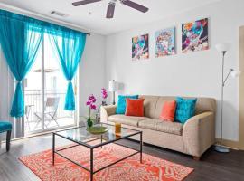 Sleeps 6 Luxury Downtown Midtown Apartment, apartment in Atlanta