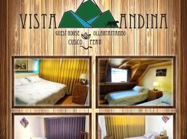 Vista Andina Ollantaytambo, Cusco, hotel in Ollantaytambo