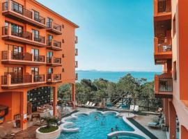 Studio em Jurerê em hotel a beira-mar, apartamento em Florianópolis