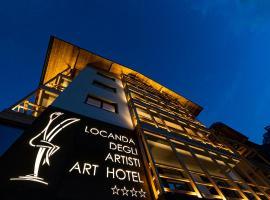 Locanda degli Artisti Art Hotel, hotel in Canazei