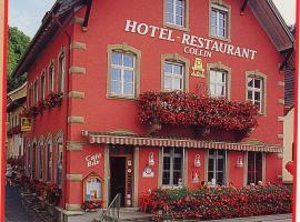 HOTEL RESTAURANT COLLIN、Ferretteのホテル