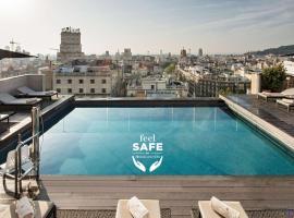 NH Collection Barcelona Gran Hotel Calderon, hotel in Barcelona
