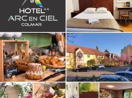 Hotel Arc-En-Ciel Colmar Contact Hotel, hotel near Saint-Martin Collegiate Church, Colmar
