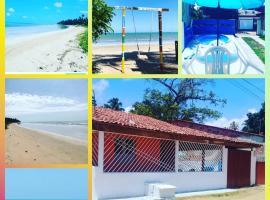 Casa de praia descanso em família, pet-friendly hotel in Japaratinga