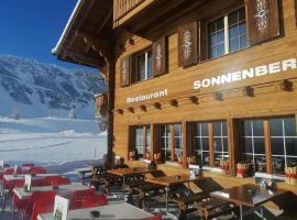 Restaurant-Hotel Sonnenberg, hotel in Mürren