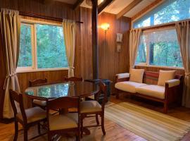 Cabañas bosque nativo, hotel cerca de Pucón Ski, Pucón
