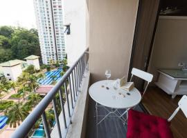 Miami green condo, homestay in Batu Ferringhi
