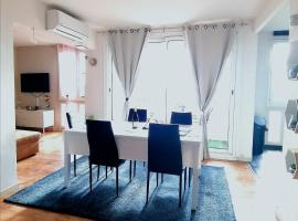 Modern Apart 70m2 - 2 rooms - Parking, accessible hotel in Avignon