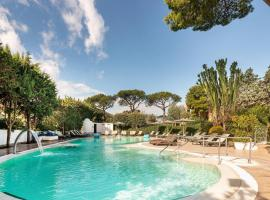 Hermitage Resort & Thermal Spa, accessible hotel in Ischia