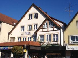 Gästehaus Stelle, hotel in Gammertingen
