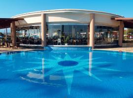 Atlantica Caldera Beach, hotel with pools in Plataniás