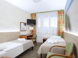 Interferie Cechsztyn, hotel with jacuzzis in Ustronie Morskie