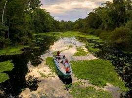 Jacamar Lodge Expeditions, pet-friendly hotel in Iquitos