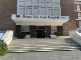 Ele Green Park Hotel Pamphili, hotel in Aurelio, Rome