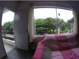 Vista pro MAR e CANAL em Bertioga ,centro, apartment in Bertioga