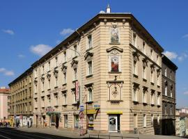 Hotel Golden City Garni, hotel in Praag