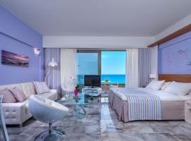 Ilios Beach Hotel Apartments, serviced apartment in Rethymno Town