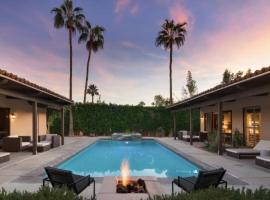 Villa Natolia - Grotto-style spa and tennis, villa in Palm Springs