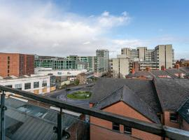 Modern 1 Bedroom City Centre Apartment with Balcony, apartment in Sheffield